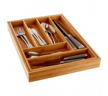 Load image into Gallery viewer, Rectangular Expandable Cutlery Tray