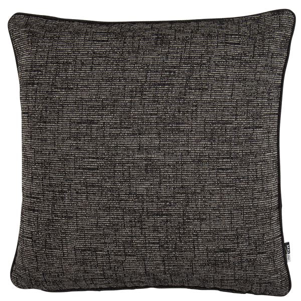 Large Zack Black Cushion 50 x 50cm