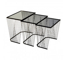 Load image into Gallery viewer, Trento Set Of 3 Side Tables