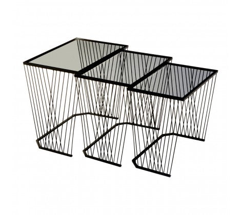 Trento Set Of 3 Side Tables