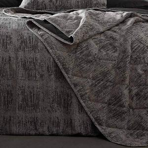 Mineral Textured Cotton Rich Quilted Throwover - 200 x 200cm