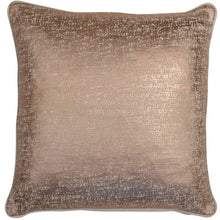 Load image into Gallery viewer, Shimmer Gold Cushion 45 x 45 cm