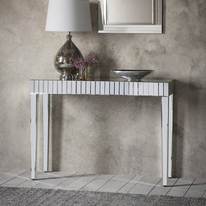 Sorrento Mirrored Console Table