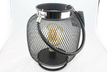 Load image into Gallery viewer, Wire Led Hanging Iron Lantern - Round or Teardrop