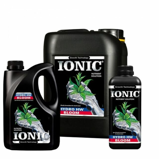 Growth Technology Ionic Hydro Bloom Hard Water