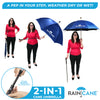 RainCane™ 2 in 1 walking cane umbrella