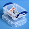 Really Useful Boxes® Plastic Storage Box, 0.07 Liter