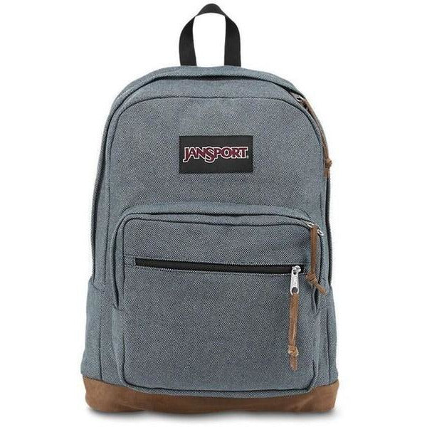 Jansport Right Pack - Blue Micro Check Denim
