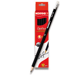 Kores Graphite Pencil (HB) - Pack of 12