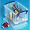 Really Useful Boxes® Plastic Storage Box 1.60 Liter
