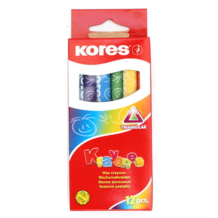 Kores Crayons - Set of 12 Colors