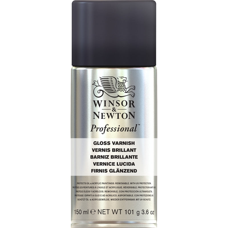 Winsor & Newton Professional Gloss Varnish Spray (150ml)