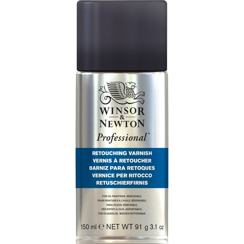 Winsor & Newton Professional Retouching Varnish Spray (150ml)