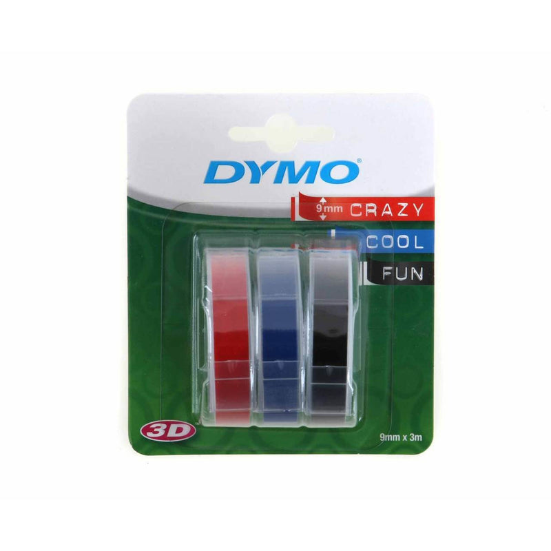Dymo Embossing Tape / Pack of 3