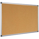 Bi-Office Aluminium Frame Cork Board