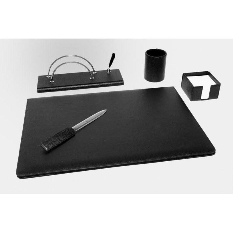 Munari Leather Desk Set - 5 Pcs.