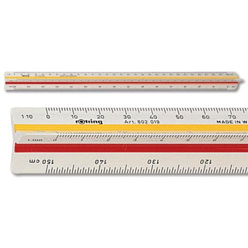 Rotring Triangular Reduction Scale