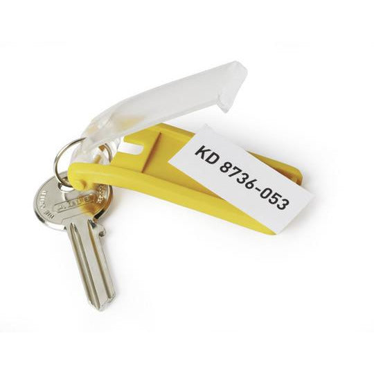Durable Key Tags - Pack of 6