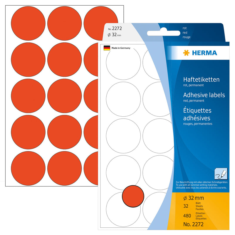 Herma Color Dots - Pack