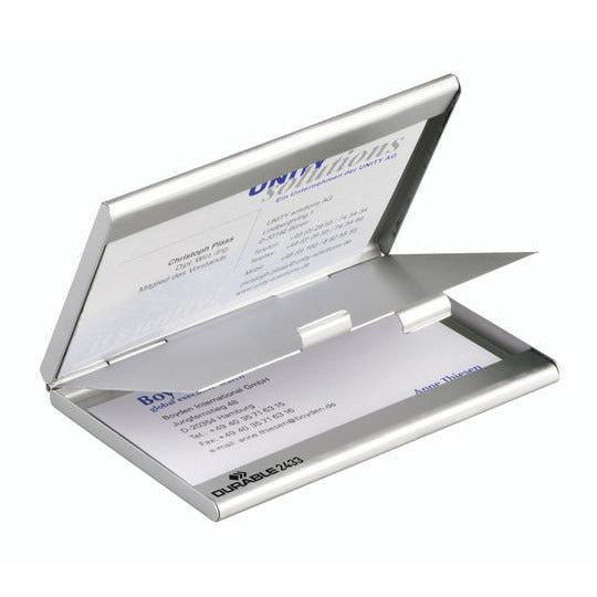 Durable Business Card Case Holder