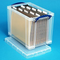 Really Useful Boxes® Plastic Storage Box 24.0 Liter