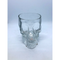 Glass Skull Candy Holder