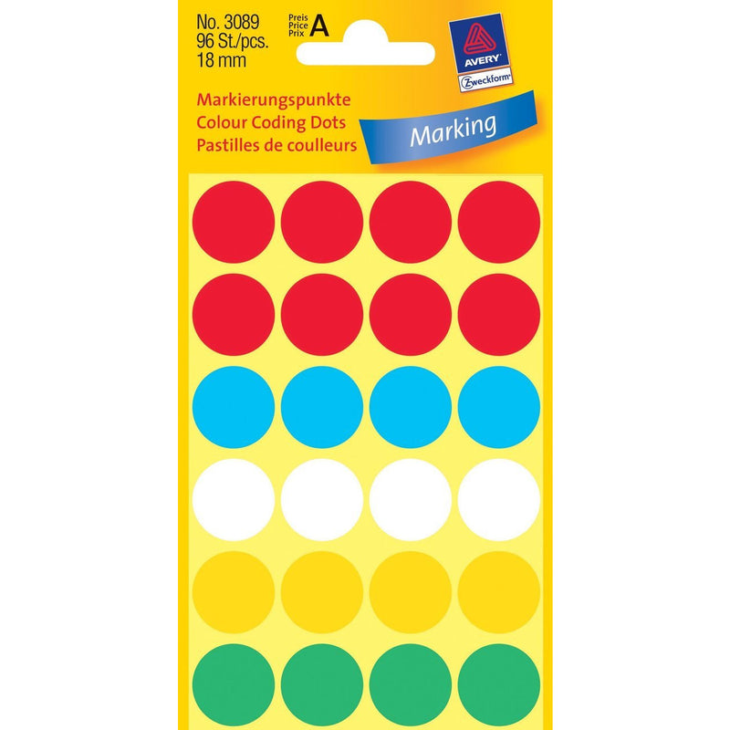 Zweckform Color Coding Dots - Pack