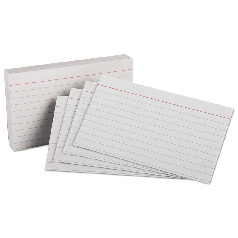 "SinarLine Index Cards - 20.3 x 12.7 cm (5""x8"") - Ruled - Pack/100"