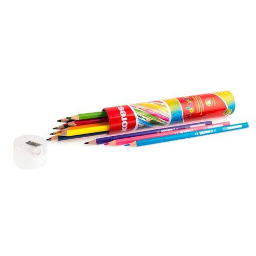 Kores Coloring Pencils - Tin Tube of 12