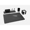 Munari Leather Desk Set / 5 Pcs. - Black
