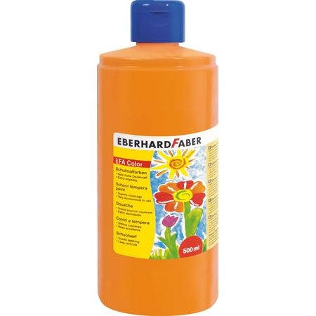 Eberhard Faber Tempera Paint 500ml - Orange