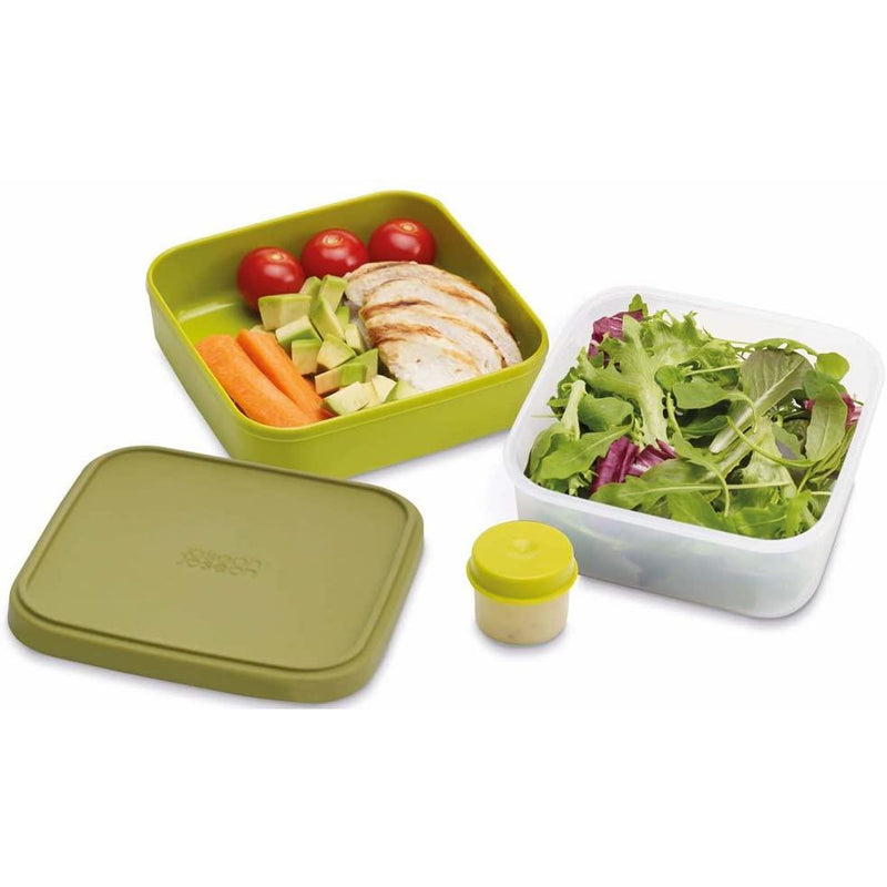 Joseph Joseph GoEat Compact 3-in-1 Salad Box - Green