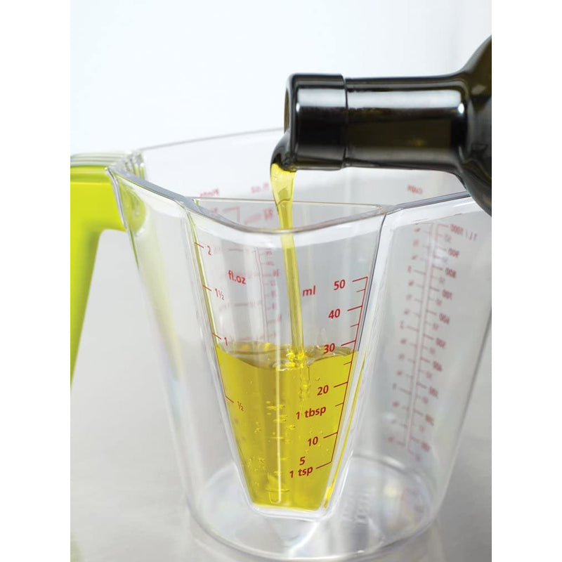 Joseph Joseph 2-in-1 Large and Small Volume Measuring Jug