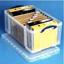 Really Useful Boxes® Plastic Storage Box 64.0 Liter
