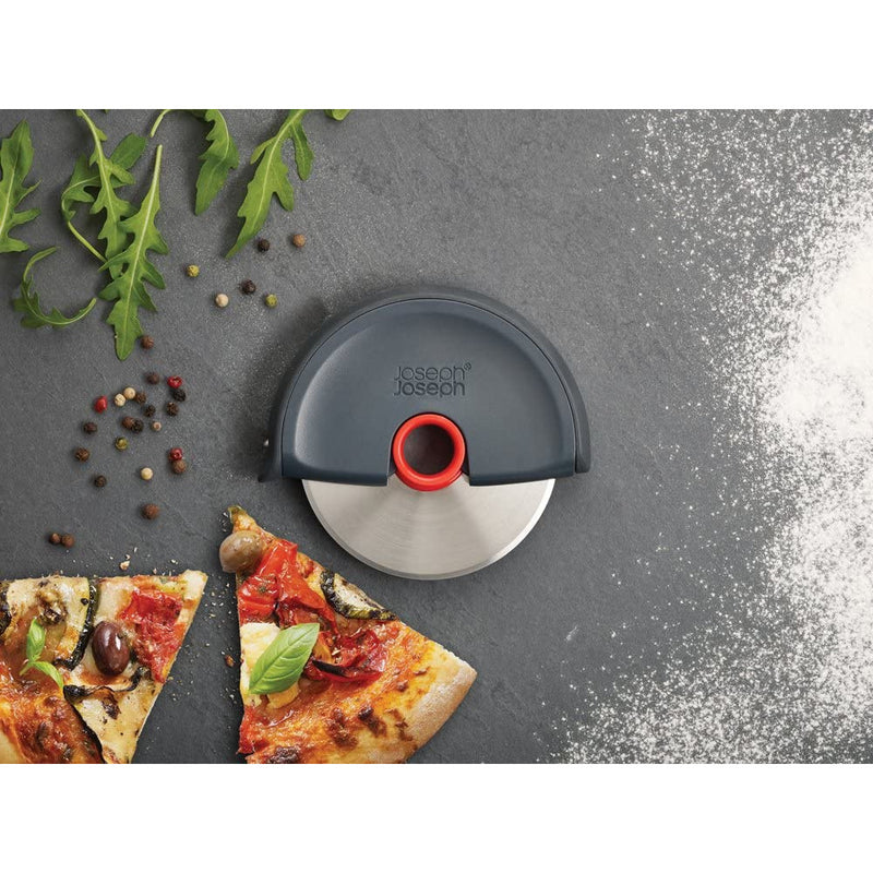 Joseph Joseph Disc Easy-Clean Pizza Wheel - Grey, Red