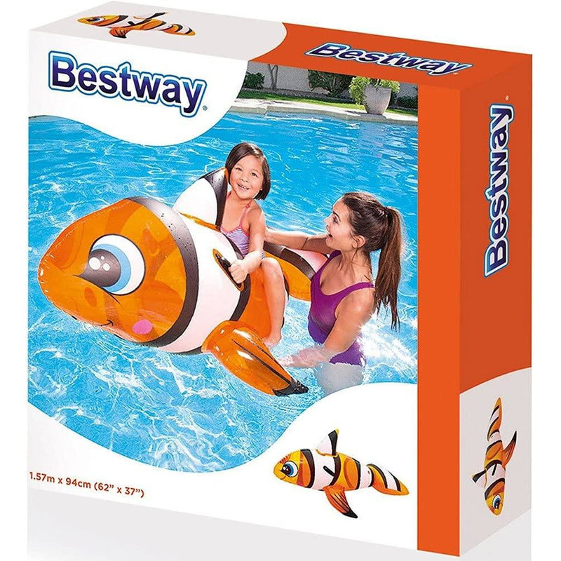 Bestway Clownfish Inflatable Ride-On