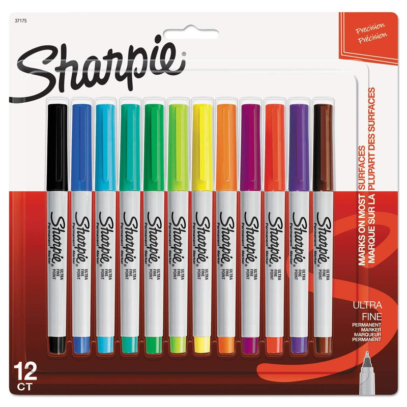 Sharpie Ultra Fine Permanent Marker - Set