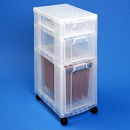 Really Useful Boxes® Storage Tower with 7, 12 and 25 Liter Drawers