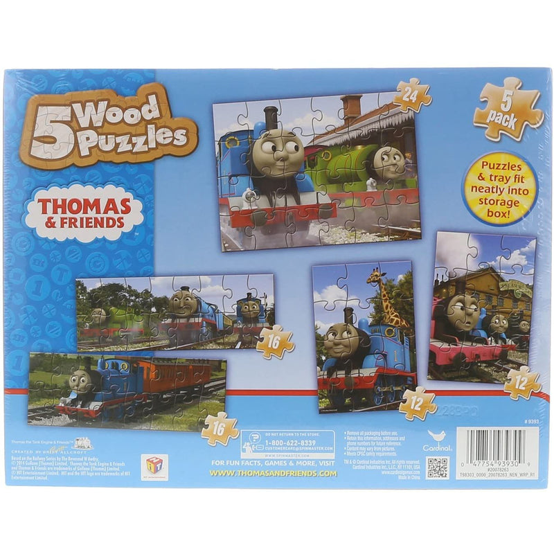 Cardinal Thomas & Friends Wooden Puzzle - 5-in-1