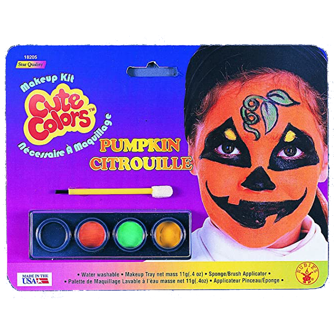 Pumpkin Face Paint Kit