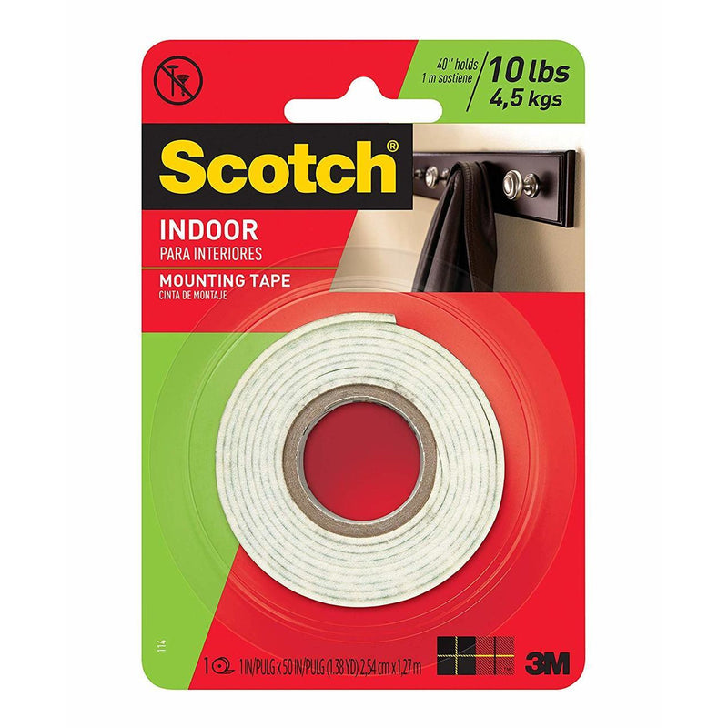 Scotch® Indoor Mounting Tape (Double Face)