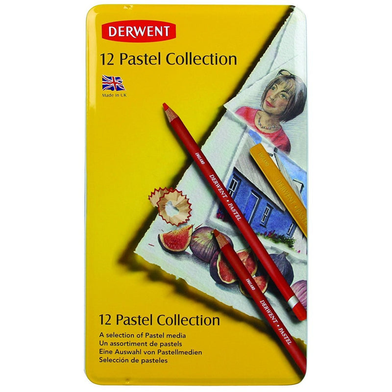 Derwent Pastel Collection Colors - Set of 12