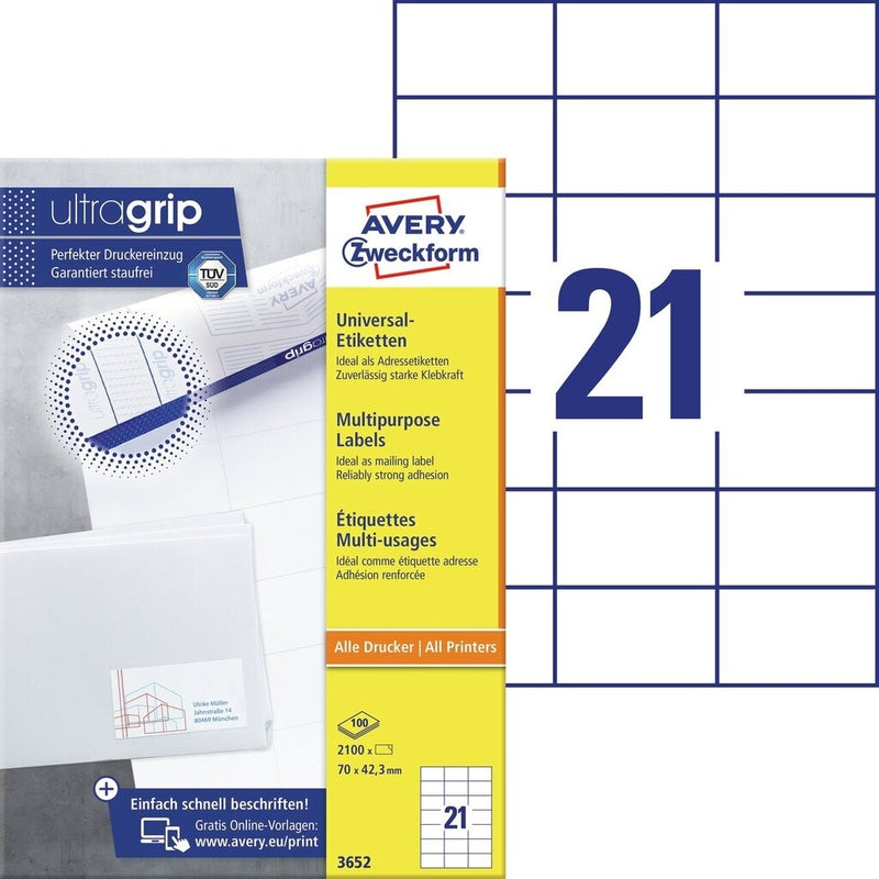 Zweckform Universal A4 Labels - Pack