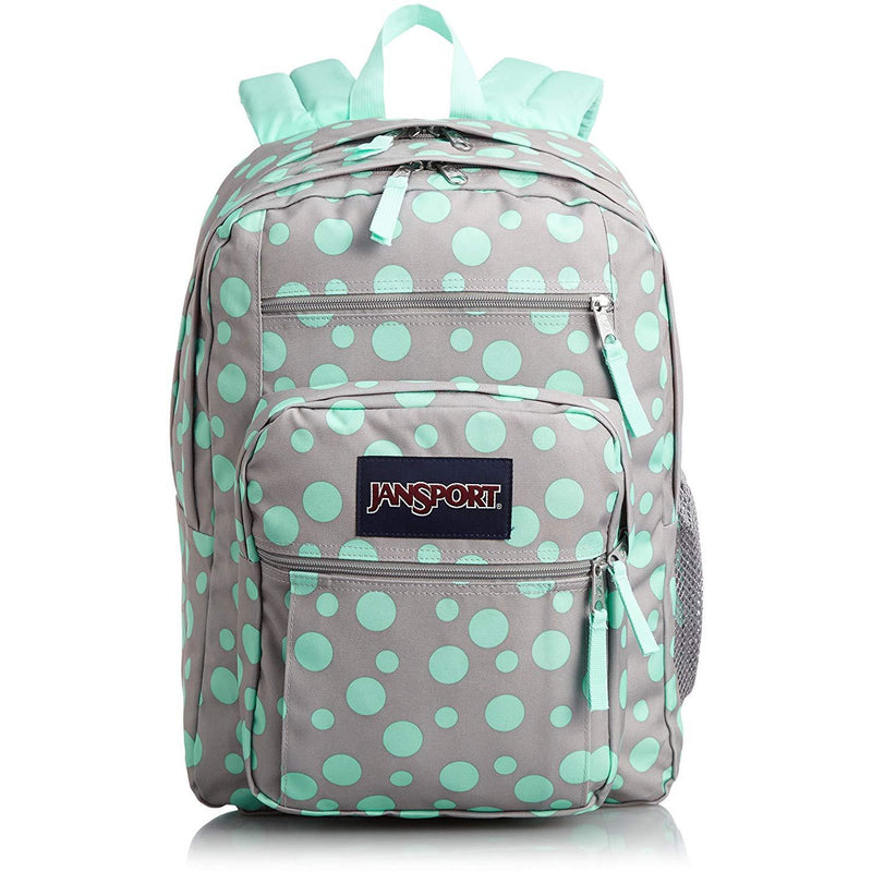 Jansport Big Student - Gray Rabbit Sylvia Dots