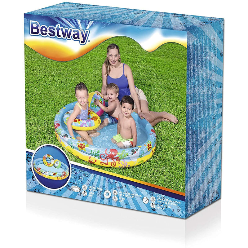 Bestway Children's Inflatable Pool Set