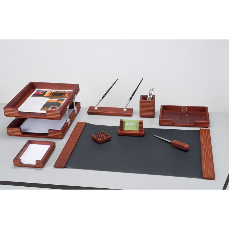 Bestar Solid Wood Desk Set - 9 pcs
