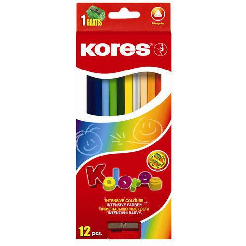 Kores Coloring Pencils - Set of 12