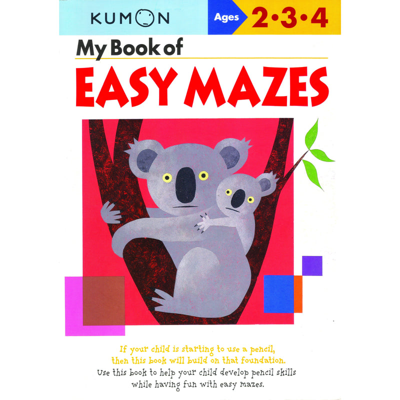 My Book of Easy Mazes (Ages 2-3-4)
