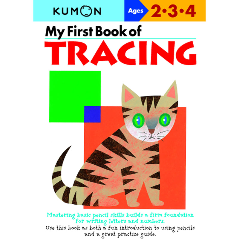 My First Book of Tracing (Ages 2-3-4)