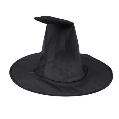 Plain Black Witch Hat